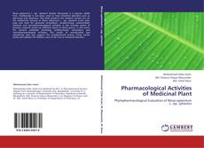 Couverture de Pharmacological Activities of Medicinal Plant