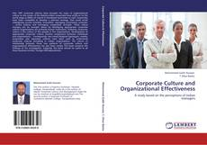 Bookcover of Corporate Culture and Organizational Effectiveness