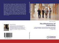 Bookcover of The Effectiveness of Rebranding