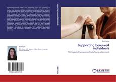 Couverture de Supporting bereaved individuals