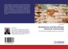 Borítókép a  Architecture and the African American Community - hoz
