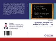 Homological dimensions and Cohen-Macaulay rings的封面