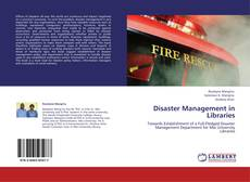 Обложка Disaster Management in Libraries