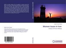 Portada del libro de Women issues in Iran