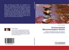 Copertina di Environmental Micromonospora Strains