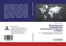 Bookcover of Комплексная переработка техногенного сырья и отходов
