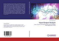 Portada del libro de Input-Output Analysis