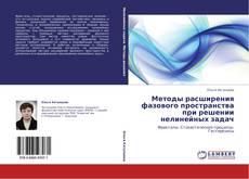 Bookcover of Методы расширения фазового пространства при решении нелинейных задач