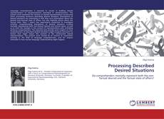Capa do livro de Processing Described Desired Situations