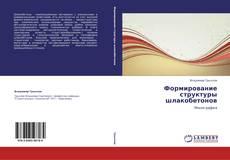 Buchcover von Формирование структуры шлакобетонов