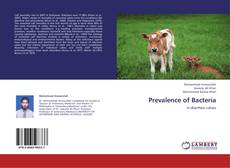 Bookcover of Prevalence of Bacteria