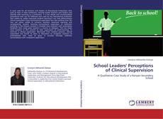 Portada del libro de School Leaders' Perceptions of Clinical Supervision