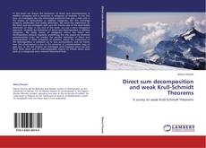 Bookcover of Direct sum decomposition and weak Krull-Schmidt Theorems