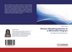 Обложка Dholuo Morphosyntactics in a Minimalist Program