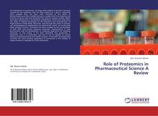 Couverture de Role of Proteomics in Pharmaceutical Science A Review