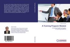 Buchcover von A Training Program Module