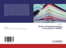 Buchcover von Study and Implementation on protocol in MANET