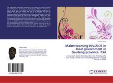 Portada del libro de Mainstreaming HIV/AIDS in local government in Gauteng province, RSA