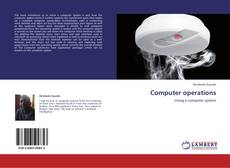 Bookcover of Computer operations
