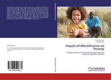 Bookcover of Impact of Microfinance on Poverty