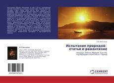 Bookcover of Испытание природой:   статьи о романтизме