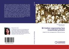 Capa do livro de Bt Cotton expressing two insecticidal protein