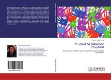 Bookcover of Student Satisfaction Checklist