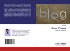 Bookcover of Library Weblogs