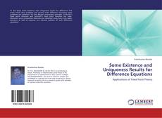 Copertina di Some Existence and Uniqueness Results for Difference Equations