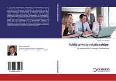 Portada del libro de Public-private relationships: