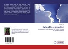 Cultural Reconstruction kitap kapağı