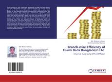 Bookcover of Branch-wise Efficiency of Islami Bank Bangladesh Ltd.