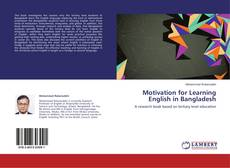 Couverture de Motivation for Learning English in Bangladesh