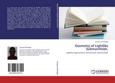 Bookcover of Geometry of Lightlike Submanifolds.