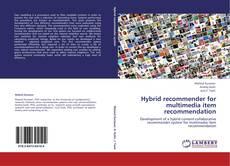 Couverture de Hybrid recommender for multimedia item recommendation