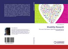Bookcover of Disability Research