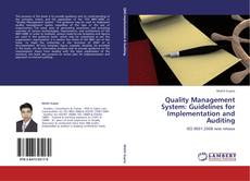 Quality Management System: Guidelines for Implementation and Auditing kitap kapağı