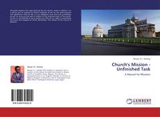 Copertina di Church's Mission - Unfinished Task