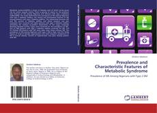 Capa do livro de Prevalence and Characteristic Features of Metabolic Syndrome