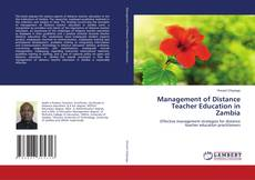 Bookcover of Management of Distance Teacher Education in Zambia