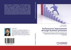 Couverture de Performance improvement through business processes
