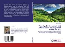Capa do livro de Poverty, Environment and Millennium Development Goals (MDGs)