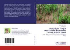 Endophytic Fungal Interactions with Plants under Abiotic Stress kitap kapağı