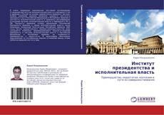 Обложка Институт президентства и исполнительная власть