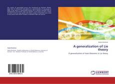 Capa do livro de A generalization of Lie theory