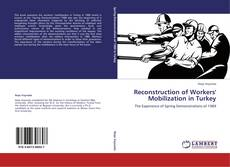 Couverture de Reconstruction of Workers' Mobilization in Turkey