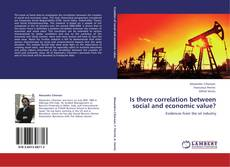 Couverture de Is there correlation between social and economic value?