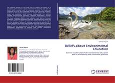 Buchcover von Beliefs about Environmental Education