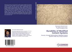 Couverture de Durability of Modified Cement Systems
