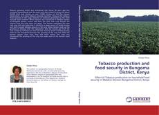 Tobacco production and food security in Bungoma District, Kenya的封面